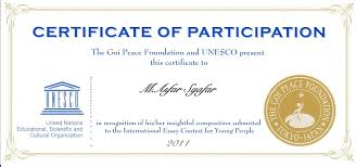 peace essay contest my ordinary stories the goi peace foundation and unesco semoga sukses