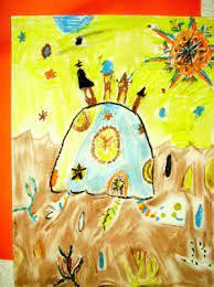 Art ala Alberto Cerriteno | KIDS & GLITTER