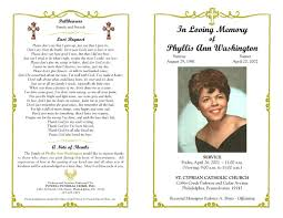 Funeral Programs Templates Free Download Funeral Program Template Sample Free Loving Memory Templates Masir 2