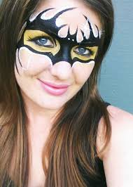 even in a horror makeup something like false eyelashes or lip liner can really draw the eye in and help the makeup pop