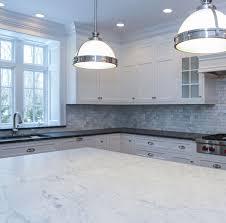 kitchen countertop idea two tone countertop