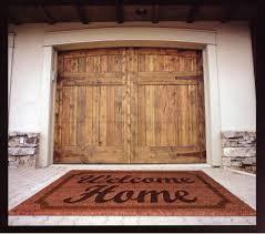 wood garage doorsCustom Wood Garage Doors by Montana Rustics