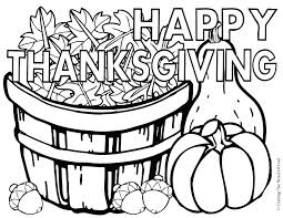 Free Printable Thanksgiving Coloring Pages 2018 Happy Thanksgiving