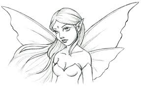 12 Angel Drawing Fairy For Free Download On Ayoqqorg