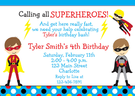 superheroes birthday party invitations superhero birthday invites tirevi fontanacountryinn com