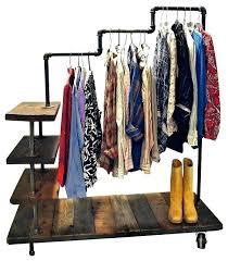 z rack garment rack s decorative garment rack with shelves garment rack with side shelves