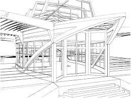 Maison Dessin Architecte Good Esquisse Simple Trait Projet Cubique