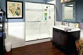 replace shower with bathtub image of bathroom remodel tub to shower conversions removing bathtub shower doors