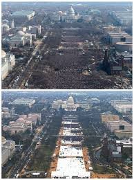 trump inauguration crowd size fox donald trump had biggest inaugural crowd ever metrics dont show it