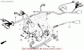 honda cmx450c rebel 1986 g usa california wire harness buy wire view large image