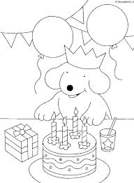 Krokobil Kleurplaat Sinterklaas Miffy Coloring Page Tv Series