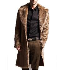 2019 mens faux fur coats long trench coat fur collar leather suede jacket men overcoats warm winter male jackets luxury from insightlook 169 28 dhgate