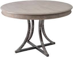trendy wood and metal round dining table dining table round metal dining table