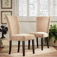 Parson-Classic-Upholstered-Dining-Chair-Set-of-2-
