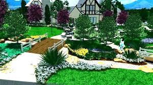 Virtual Backyard Design Stunning Garden Design Software Online Gamerduelco