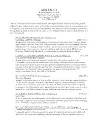 Resume Sample For Production Manager Best of Production Manager Resume Examples Mycola
