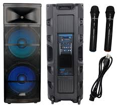 sound system speakers brands. staraudio brand new 5000w pro stage led rgb light dual 15\ sound system speakers brands