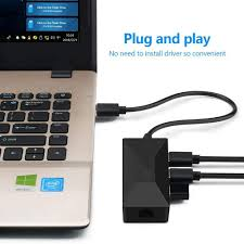 USB HUB for Gigabit Ethernet Adapter 1000Mbps Type c Hub 3.0 LAN for Xiaomi  Mi Box 3/S Android TV Set-top Network Card USB3-HC02 Wi-Fi Dongles  Electronics