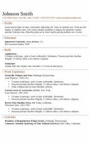 Online Resume Template Free Custom Online Resume Template Free Formatted Templates Example