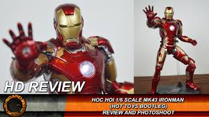 hoc hoi ironman mk43 hot toys bootleg figure review and photoshoot