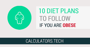 Diet Chart For Obese Person 10 Diet Plans For Obese People