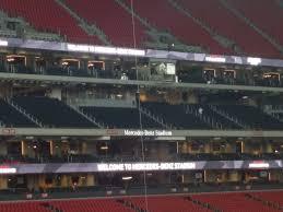 Mercedesbenzstadium Com Seating Chart Atlanta Falcons Club Seating At Mercedes Benz Stadium