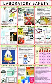 Laboratory Safety Chart Wall Chart 2014 By Laboratory