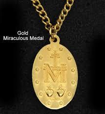 miraculous medal gold miraculous medal miraculous medal 14k gold miraculous medal st