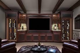 custom built in wine storage american