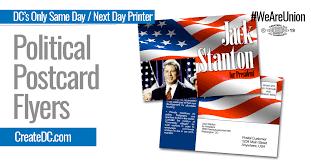 Political Event Flyer Political Flyers Postcards Union Bug Createdc Ccom