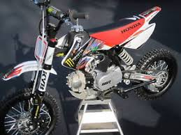 pit bike honda crf 50 graphics w plastic monster energy ebay