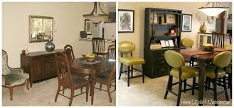 stone house furniture. before and after dining room benjamin moore stone house with green accents slight asian style dark furniture pieces w