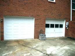 average cost to install garage door opener cost to install garage door fascinating cost to install
