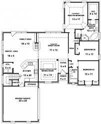 ... Marvelous 3 Bedroom 2 Bath Open Floor Plans (Photos And Video 4 Bedroom  3 Bath ...