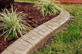Cheap Landscape Edging Garden Edging And Cheap Landscaping Ideas Photograph Inexpensive