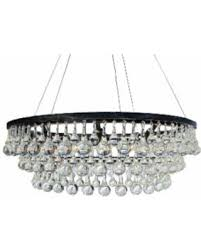 gallery of clarissa crystal drop round chandelier pottery barn alive glass 3