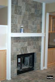 good tile fireplace surround according inspirational article limestone