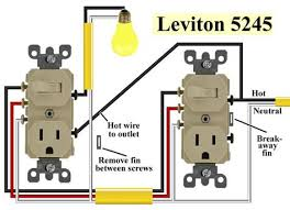 waterheatertimer org images leviton 5245 2 600 jpg electrical 3 way switch outlet combo at Leviton 5245 Wiring Diagram
