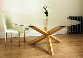 glass circle dining table new court solid oak glass round dining table pedestal round glass dining