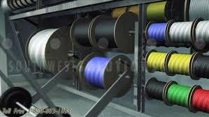 motorized wire spool storage carousels
