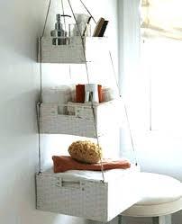 Wicker Corner Shelves bathroom wicker shelves patterndme 97