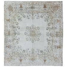 ivory grey rug stylized fl antique square in gray ivory grey rug