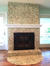 stone tile for fireplace best fireplaces pebble and stone tile images on putting stone over tile stone tile for fireplace