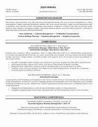 Administrative Manager Sample Job Description Resumerative