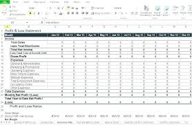 Expense And Income Template Income Template Example Income Statement Sample And Expense Of