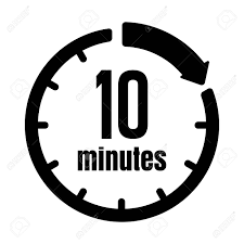 10 Minuite Timer Clock Timer Time Passage Icon 10 Minutes