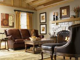 style living room furniture cottage. country style furniture living room leather sofa fireplace cottage