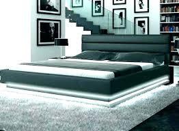 Low Bed Frame Frames Full Size Mattress Platform Wooden F ...