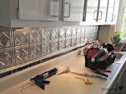 Kitchen Backsplash Tile Lowes Tin Backsplash Tiles Home Design Ideas