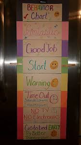 4 Year Old Behavior Chart Our Summer Behavior Chart After 4 Pink Days Our 7 Year Old